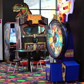 Jurassic Park game at Top Jump